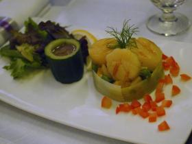 SPAIN機内食2