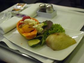 SPAIN機内食1