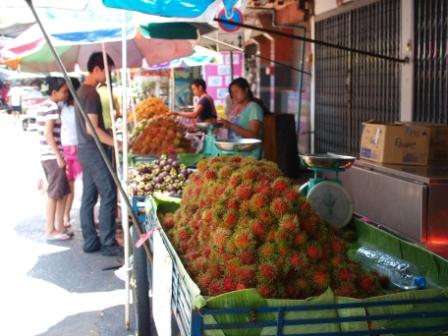 タラート果物