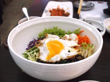 韓国料理ビビンバ