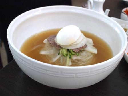 韓国料理冷麺