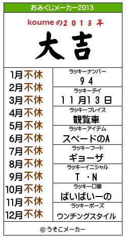 おみくじメーカー2013