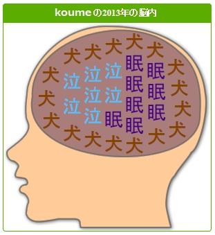 2013年の脳内