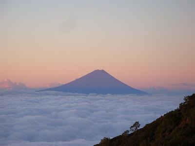 富士山です。格好よい山です