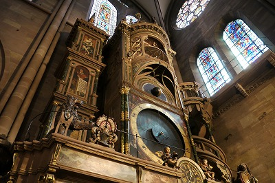 ストラスブール大聖堂のからくり時計