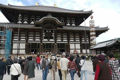 大仏殿です。巨大です