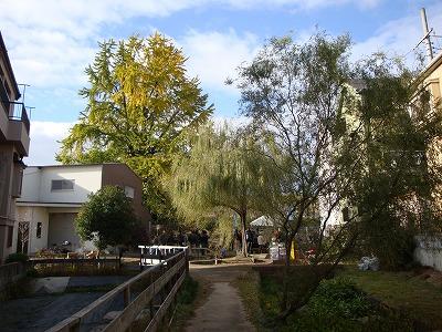 茨田樋遺跡水辺公園の全景
