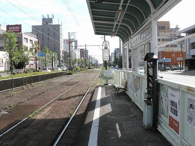 阪堺線の乗り場