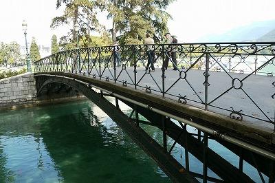 アヌシーの愛の橋 拡大