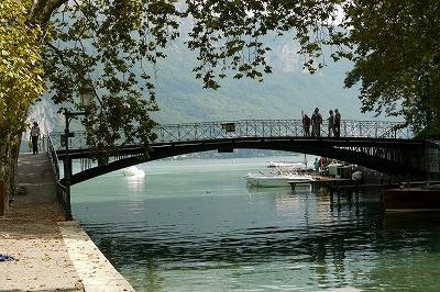 アヌシーの橋 愛の橋