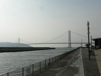 マリンピアからみた大橋