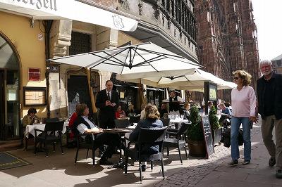 ストラスブール大聖堂隣接のレストラン
