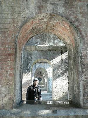 南禅寺水路閣で記念写真