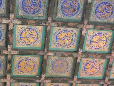 故宮博物院 天井絵画