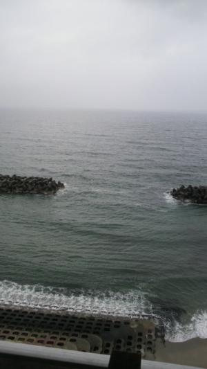 日本海~皆生温泉「白扇」にて~