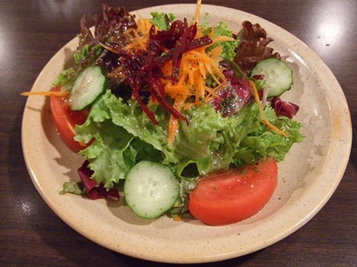 Breizh Cafe Creperie(ブレッツ・カフェ・クレープリー) ラゾーナ川崎店 サラダ