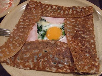 Breizh Cafe Creperie(ブレッツ・カフェ・クレープリー) ラゾーナ川崎店 ガレット1