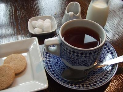 BISTRO KHAMSA(ビストロハムサ) 食後の紅茶