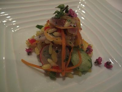 IL RISTORANTE NELLA PERGOLA(イル・リストランテ・ネッラ・ペルゴラ ) 前菜