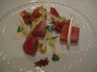 IL RISTORANTE NELLA PERGOLA(イル・リストランテ・ネッラ・ペルゴラ ) 魚料理