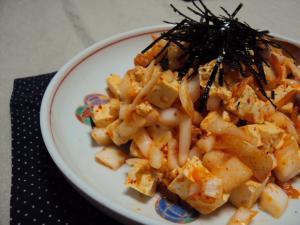 豆腐キムチ 2