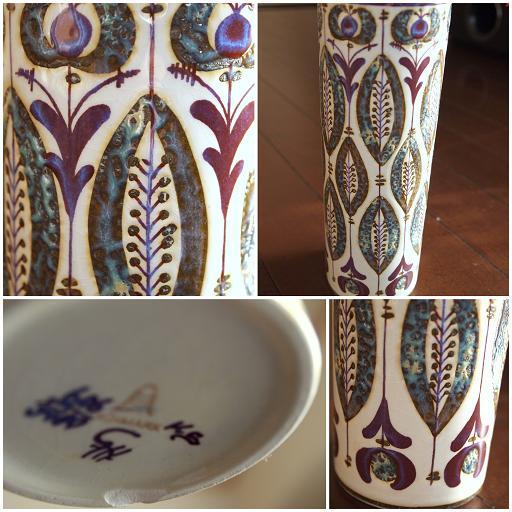 Berte Jessenの花瓶