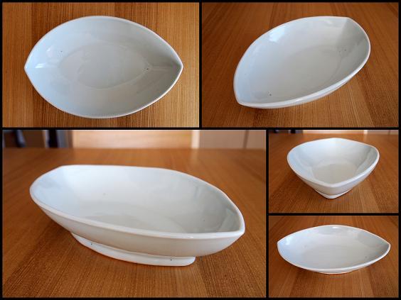 山口さんの葉型皿