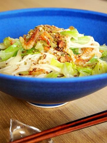 温麺チャンプルー