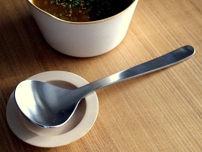 柳宗理さんのスープスプーン