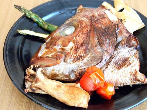 鯛かまの塩麹焼き