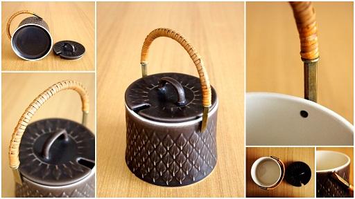 茶ジャムポット
