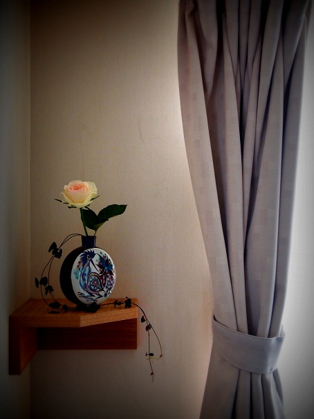鳥花瓶(3)
