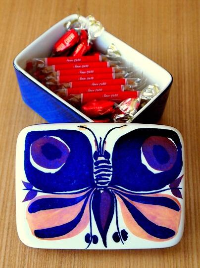 蝶のバターケース(5)