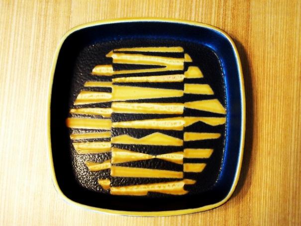 黒黄皿(2)