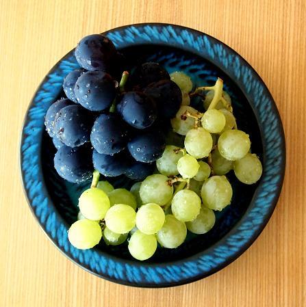 青い皿(2)