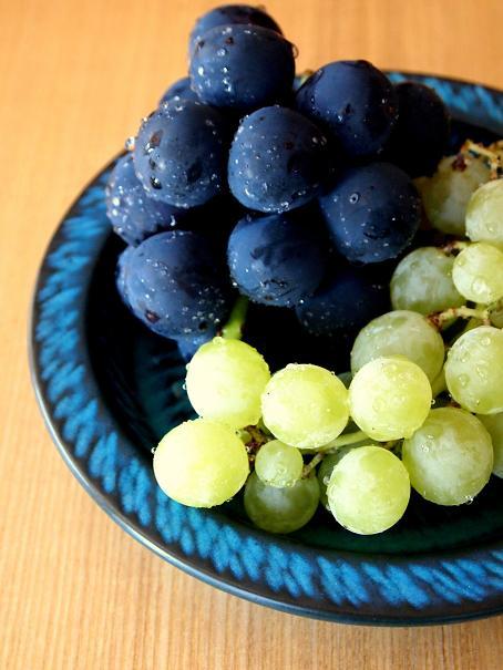 青い皿(1)