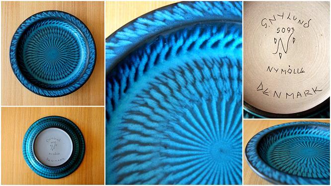 青い皿(3)
