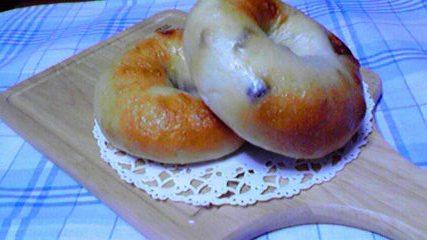 クリチ&小豆ベーグル