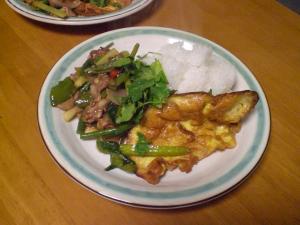 豚バラと野菜のオイスターソース炒め