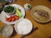 スペアリブと大根のスープ