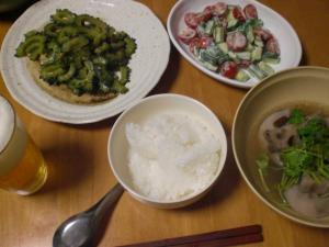 スペアリブと蓮根のスープ