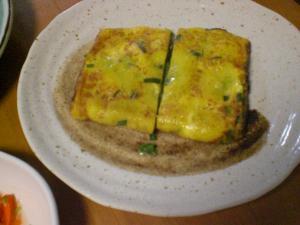 嵩増し卵焼き(ニラ入り)