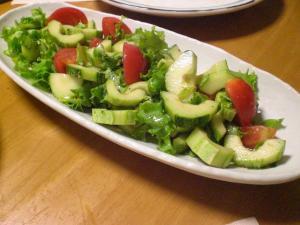 キュウリのサラダ