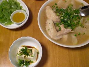 手羽と冬瓜のスープ煮