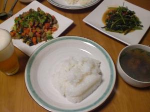 色々野菜の炒め物
