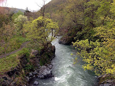 滝上渓谷 1