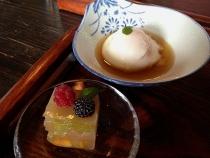 たまごカフェ デザートと温泉玉子