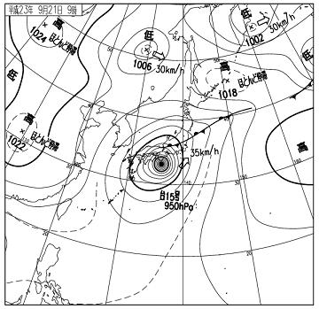天気図 11092109