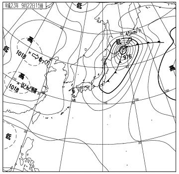 天気図 11092215