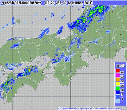 気象レーダー 201109301220-00